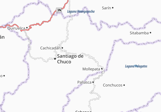 Angasmarca Map