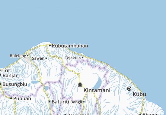 Tejakula Map