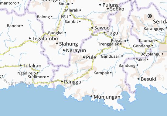 Mappe-Piantine Pule