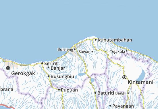 Sukasada Map