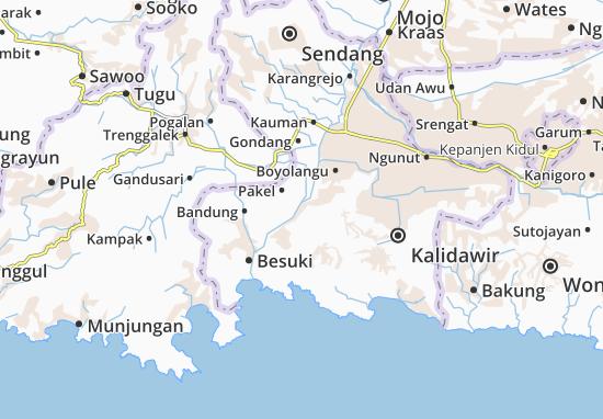 Campurdarat Map