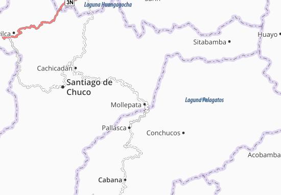 Mappe-Piantine Mollebamba