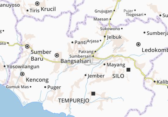 Kaliwates Map