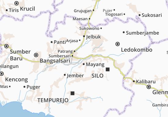 Pakusari Map