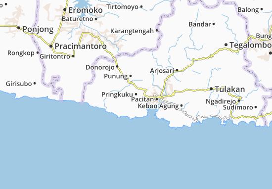 Mappe-Piantine Pringkuku