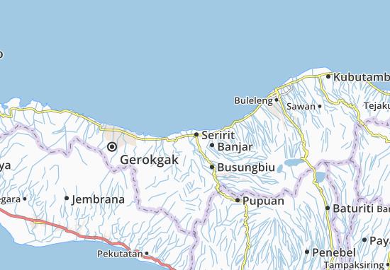 Seririt Map