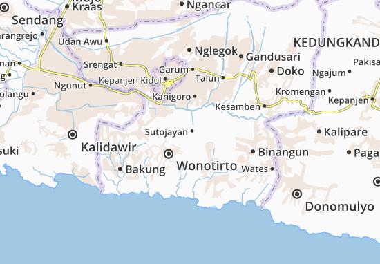 Sutojayan Map