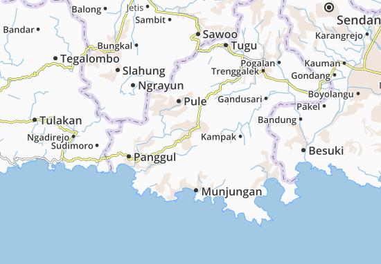 Dongko Map