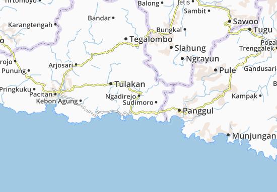 Ngadirejo Map