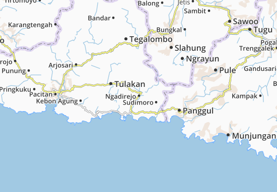 Mappe-Piantine Ngadirejo