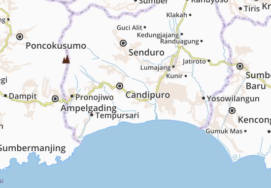 Pasirian Map