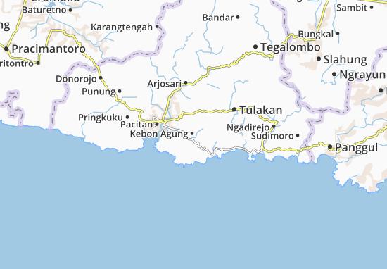 Mappe-Piantine Kebon Agung