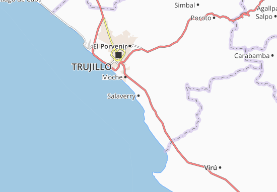 Salaverry Map