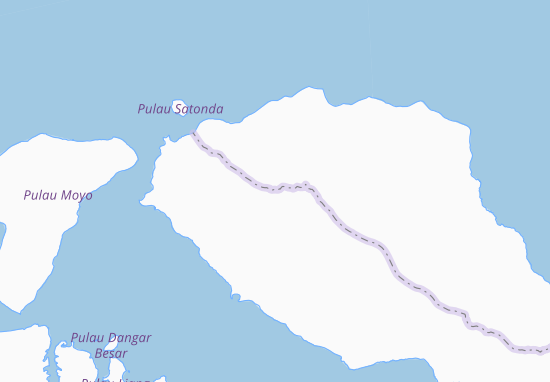 Tambora Map