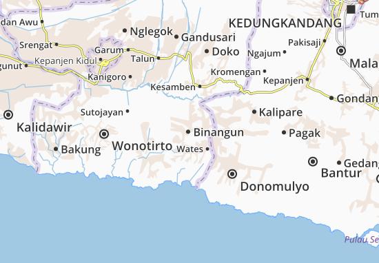 Mappe-Piantine Binangun