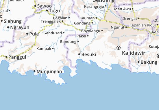 Mappe-Piantine Besuki