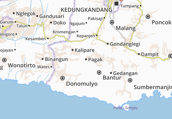 Pagak Map