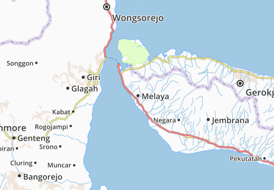 Melaya Map