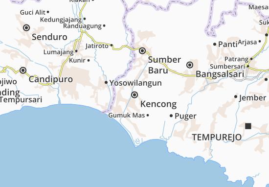 Mappe-Piantine Kencong