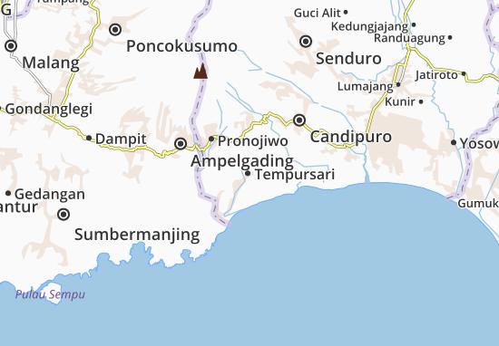 Mapas-Planos Tempursari