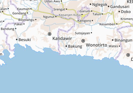 Bakung Map