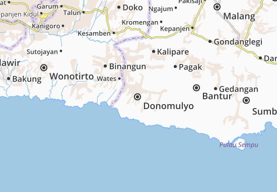 Mappe-Piantine Donomulyo