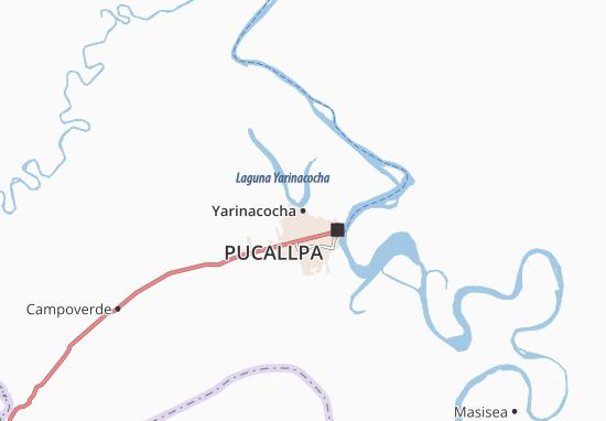 Yarinacocha Map