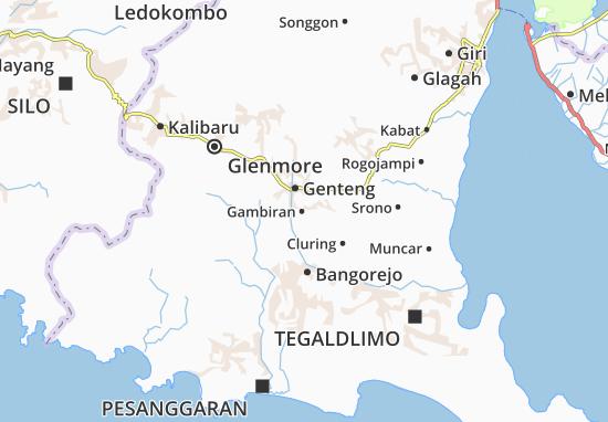 Gambiran Map