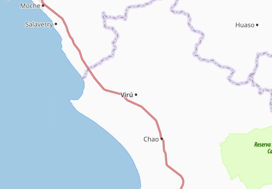 Virú Map