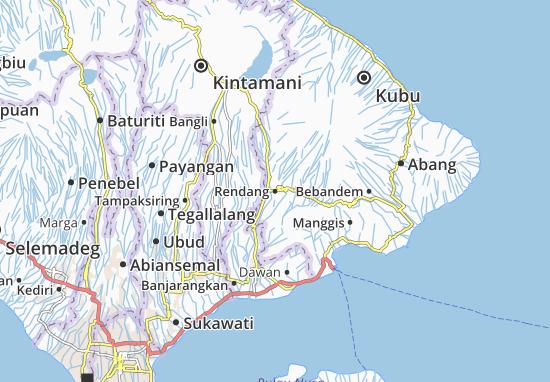 Rendang Map