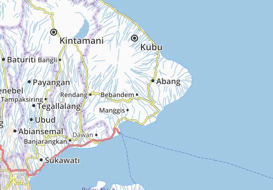 Bebandem Map