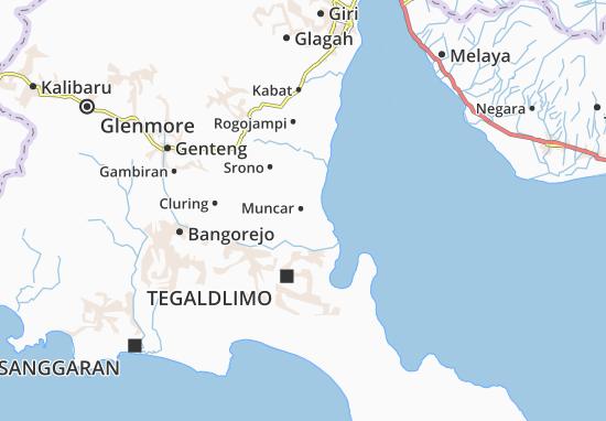 Muncar Map