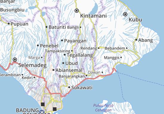 Bangli Map