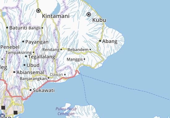 Manggis Map