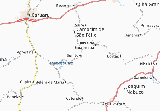 Bonito Map