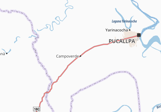 Campoverde Map