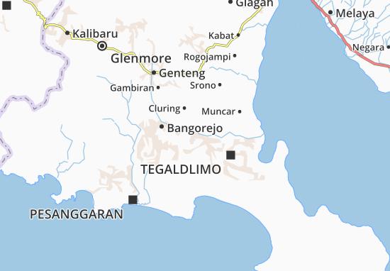 Purwoharjo Map
