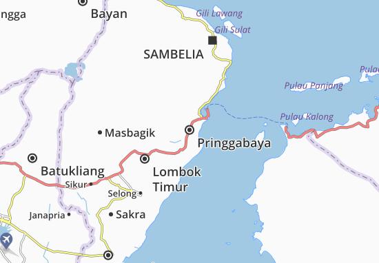 Mappe-Piantine Pringgabaya