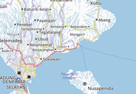 Dawan Map