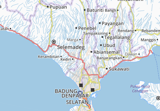Badung Map
