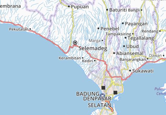 Kerambitan Map