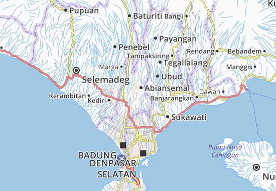 Abiansemal Map