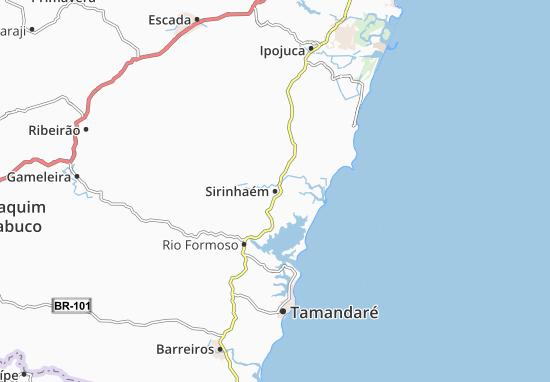 Sirinhaém Map