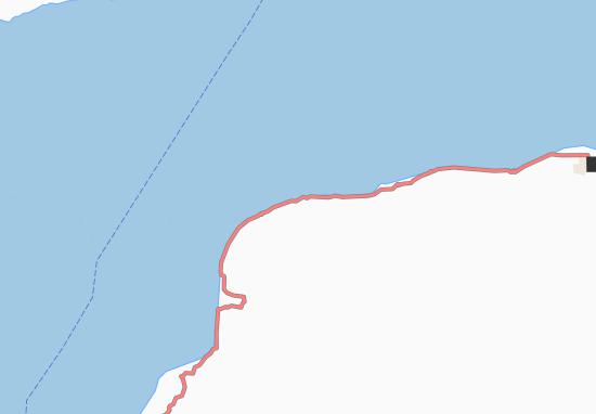 Ponta Sia Ilo Map