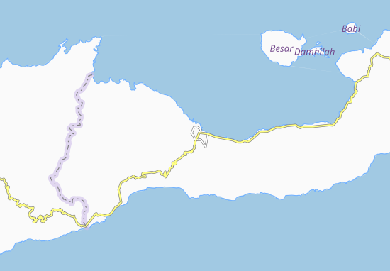 Maumere Map