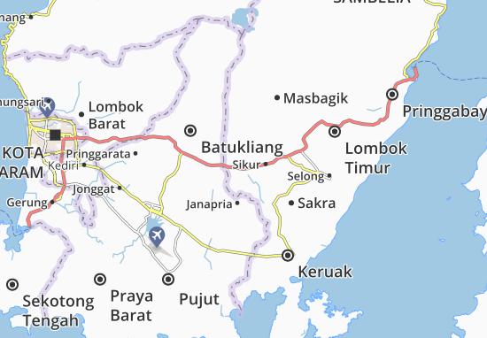 Mapa Plano Terara