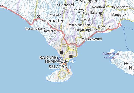 Mappe-Piantine Denpasar Barat