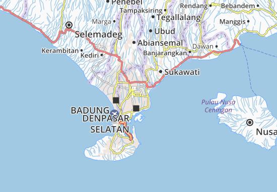 Mapas-Planos Denpasar