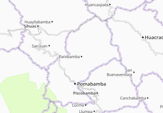 Carte-Plan Parobamba