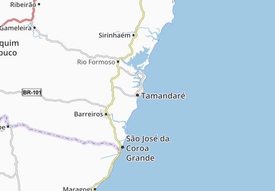 Mapas-Planos Tamandaré
